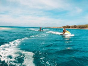 Ride the waters and explore the beautiful Coast of Curaçao on your very own jet ski.